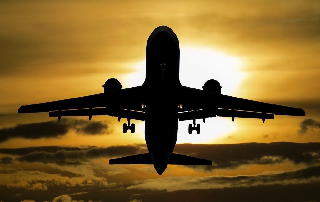 Viajar de avião - custo