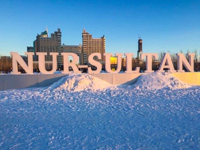 Nur-Sultan, Agarre o Mundo