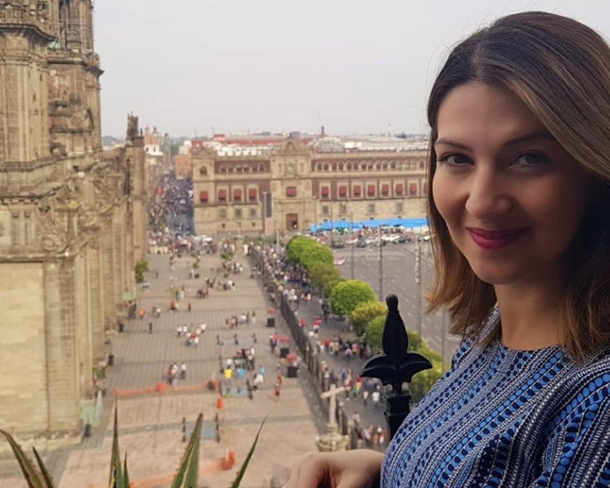 Larissa, @lari_vieirap, na Cidade do México