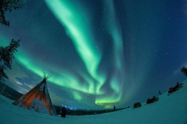 Aurora Boreal, Lapônia